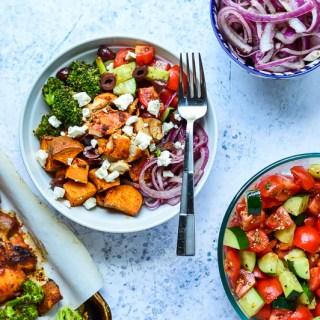 Sheet Pan Chicken Shawarma Bowls | Real Food with Dana
