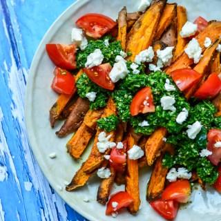 Chimichurri Sweet Potato Fries | Real Food with Dana