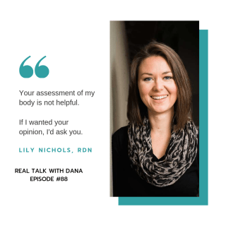 "88 | ""Getting your Body Back"" and Real Food for Gestational Diabetes with Lily Nichols, RDN 