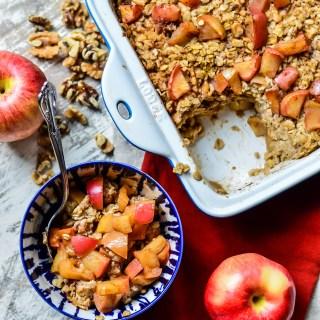 Spiced Apple Baked Oatmeal _ Real Food with Dana