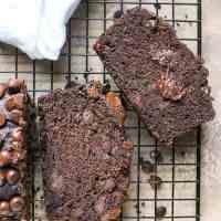 Paleo Nut-Free Double Chocolate Zucchini Bread