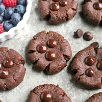 Paleo Nut-Free Chocolate Brownie Cookies