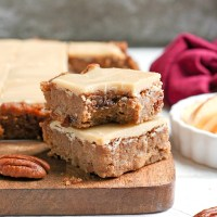 Paleo Vegan Apple Cinnamon Bars