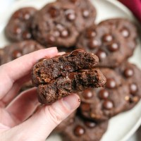 Paleo Pumpkin Fudge Cookies