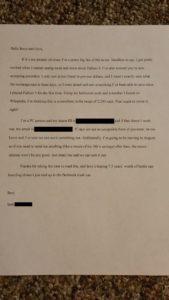bottcaps letter