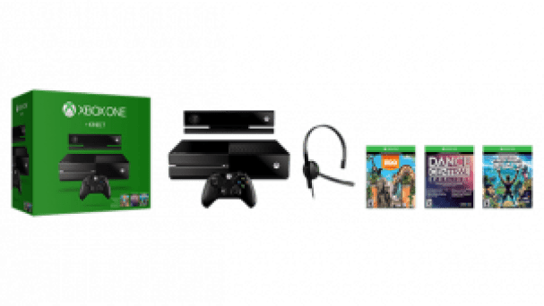 Xbox One with Kinect Bundle_Large Tile