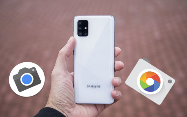 The newest Google Camera has arrived for Samsung Galaxy phones. Downloading!