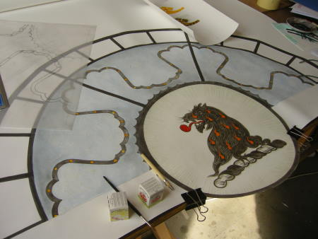 The tycoon's rose window - work in progress