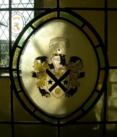 The Heraldic Arms of Hampton Hall