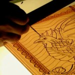 Stained glass tracing
