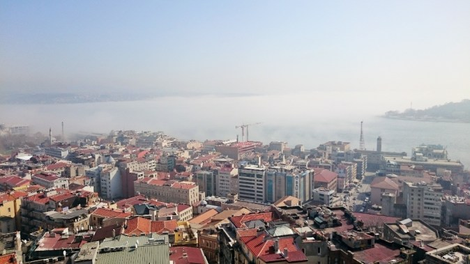 Bosphorus Straits (foggy)