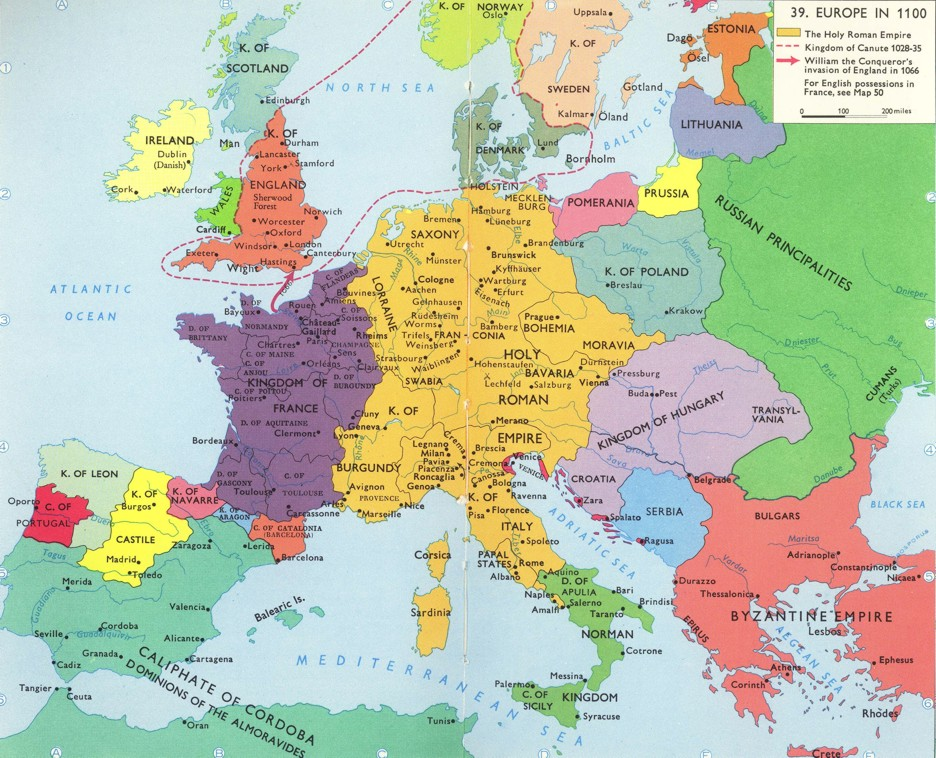 map of europe during the renaissance choice image