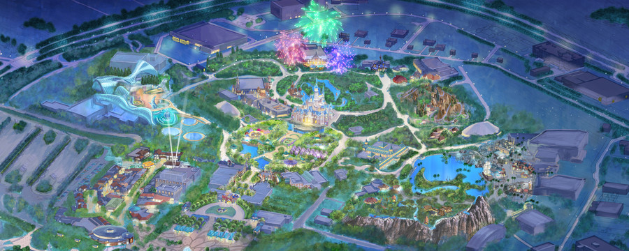 上海迪士尼主题乐园—为每一位游客创造独特体验 与家人和朋友一起在魔法世界点亮心中奇梦!