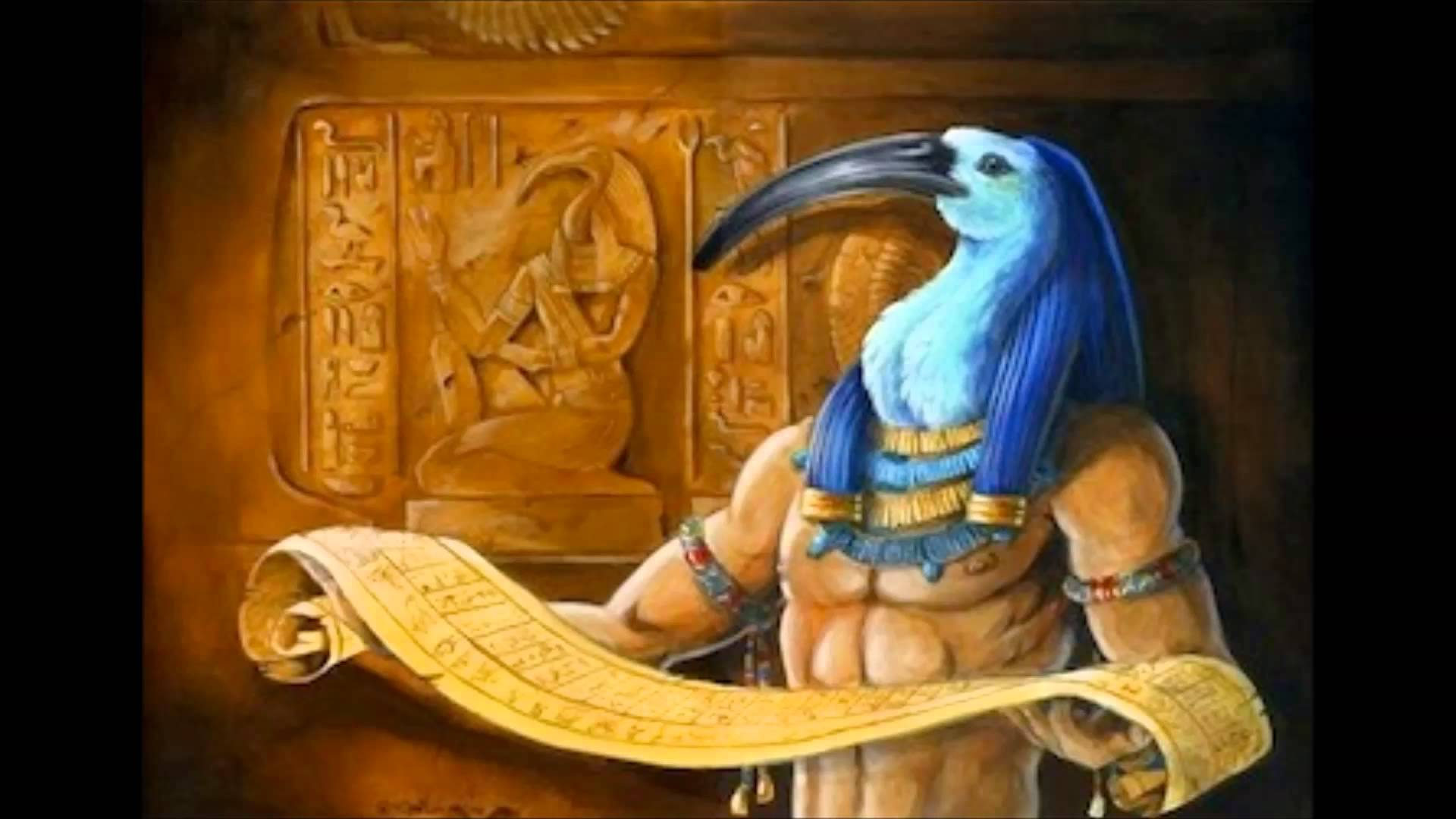THE BOOK OF THOTH - Sacred Ancient Egyptian Book of Secrets and