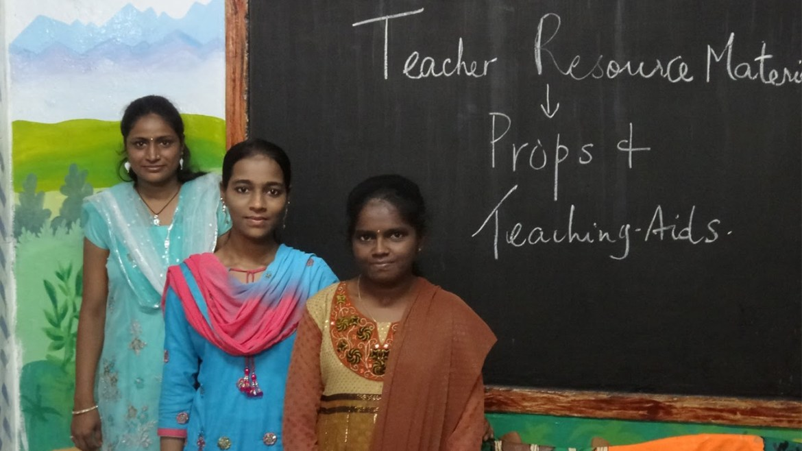 Welcome Three New Teachers, Krishna, Farheen and Akila