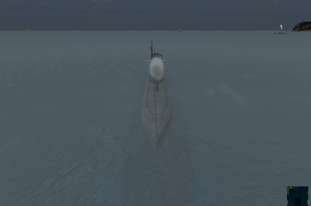 Submarine game