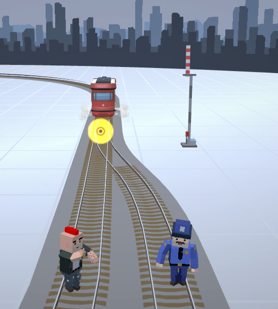 trolley problem cop or robber