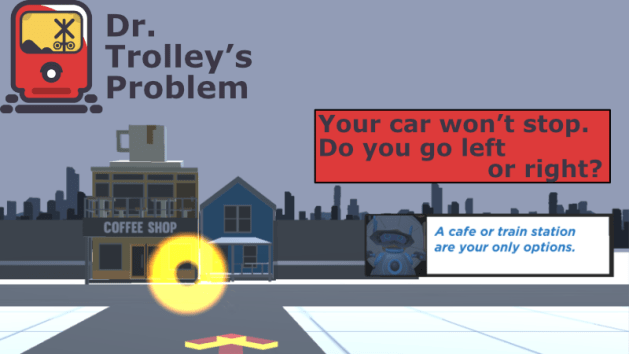 trolley problem game