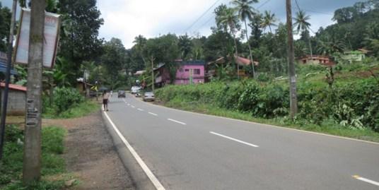 Land and house for sale at Kottarakara