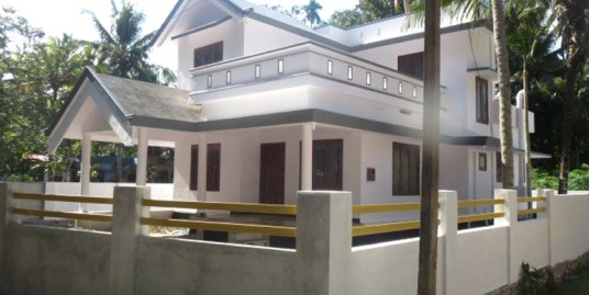 Land and house for sale at Puliyoor