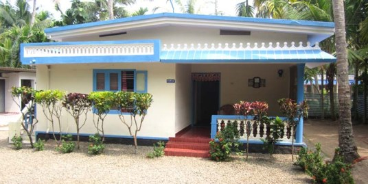 Land and house for sale at Kollam