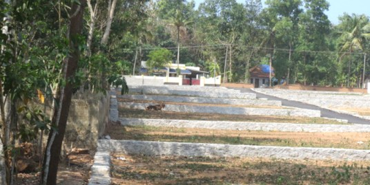Housing plots for sale at Trivandrum