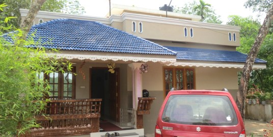 Land and House form sale at Trivandrum