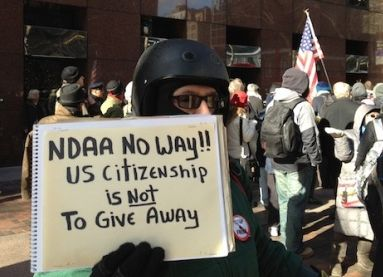 NDAA Protests End In Ironic Swarm Of Arrests