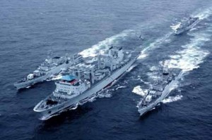 UFO War: Chinese and US Navy off San Francisco