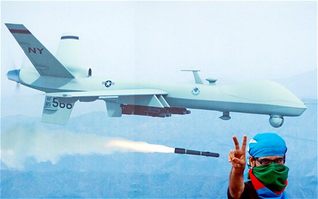 US drone attacks: CIA chiefs face arrest over horrific evidence of bloody 'video-game' sorties