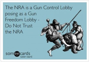 NRA WORKING ON GUN CONFISCATION