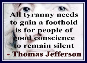 All Tyranny Needs...