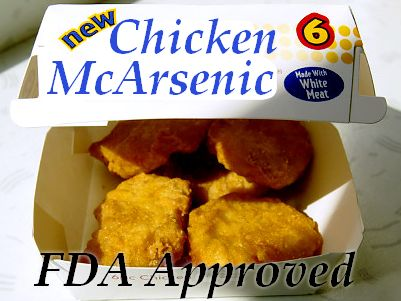 Arsenic being intentionally added to chicken