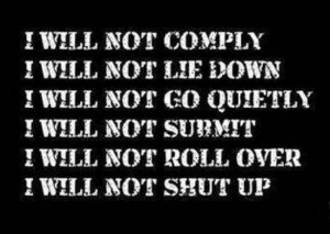 I-will-not-comply