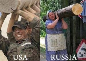 U.S.A. Vs Russia