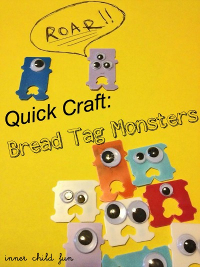 bread tag monsters
