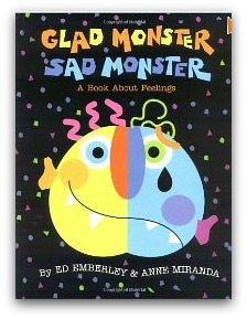 glad monster, sad monster