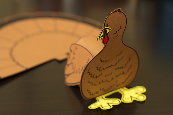 Turkey Cutout Step 6