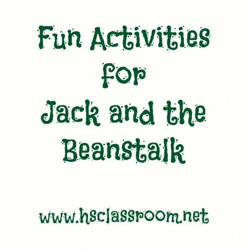 Fun Activities for Jack and the Beanstalk | ww.reallifeathome.com