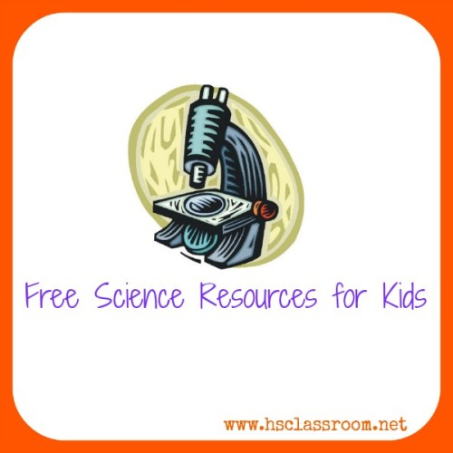 free science resources for kids