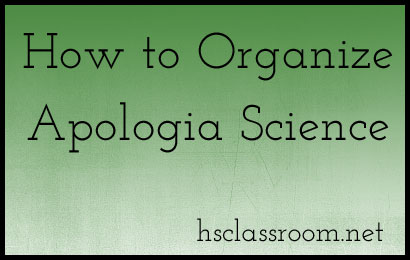 How to Organize Apologia Science | The Homeschool Classroom