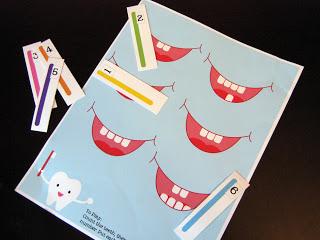 counting teeth