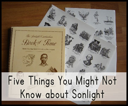 Five Things You Might Not Know about Sonlight