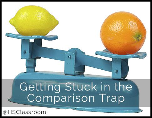 Getting Stuck in the Comparison Trap