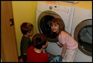 An Easy Laundry Room Makeover