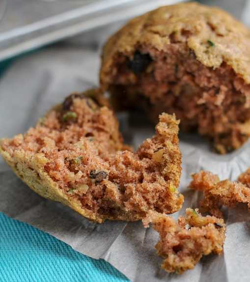 Recipe for Hearty and Delicious Zucchini Raisin Walnut Muffins | Real Life at Home