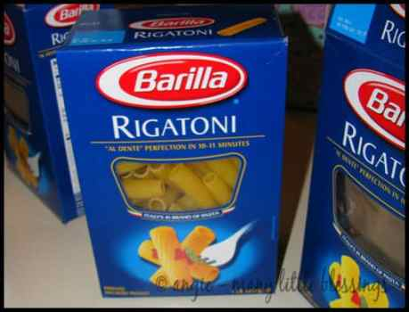 rigatoni pasta craft