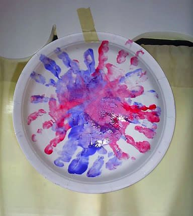 Firework Handprints Craft from Real Life at Home