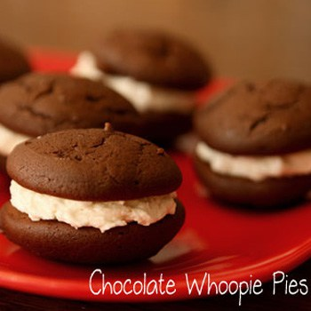 Soft and Delicious Chocolate Whoopie Pies | RealLifeAtHome.com