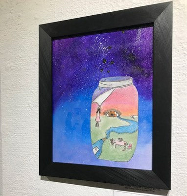 How to display children's artwork to keep it for the future